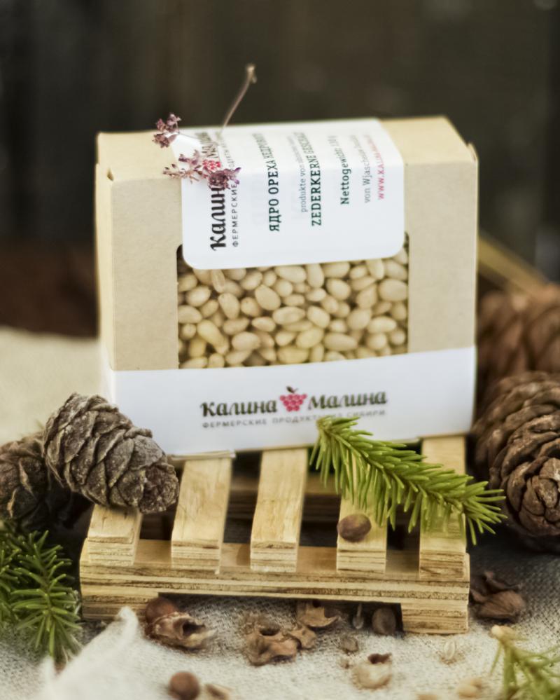 Sibirische Zederkerne / Pinienkerne -  geschält 130 g