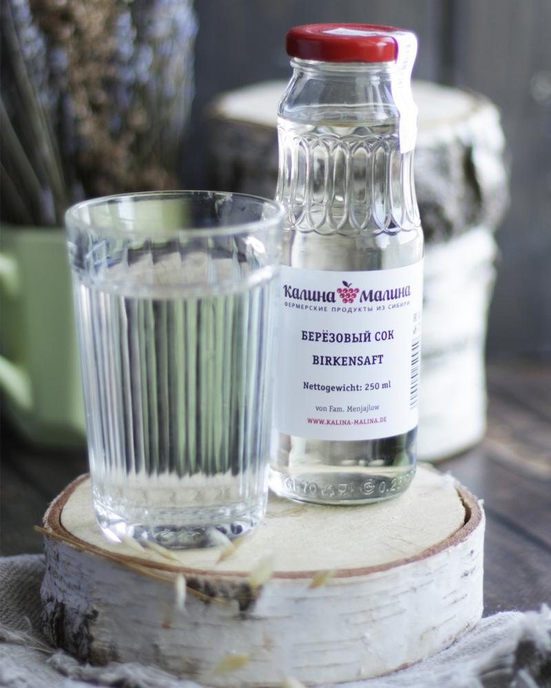Sibirischer Birkensaft 250 ml  -  Березовый сок