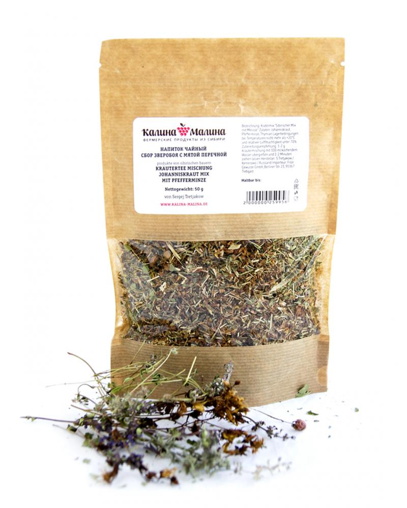 Johanniskraut Mix mit Pfefferminze 50 g